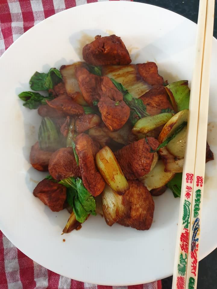 shanghai chicken with pak choi slimming world recipe