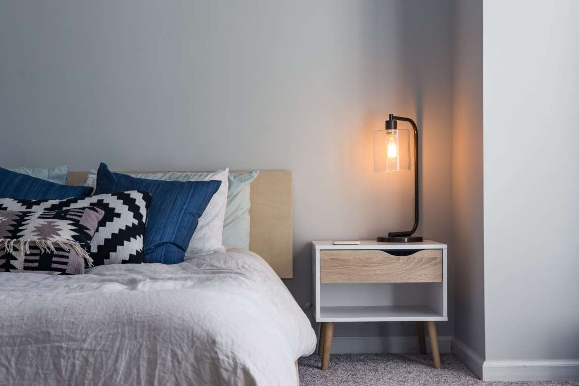 light ambience in the bedroom