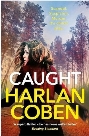 Caught by Harlan Coben book cover