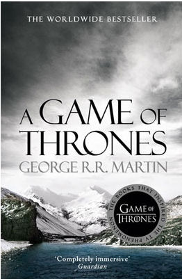 A Game Of Thrones Book Cover by George R.R. Martin