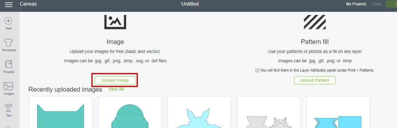 design space upload file