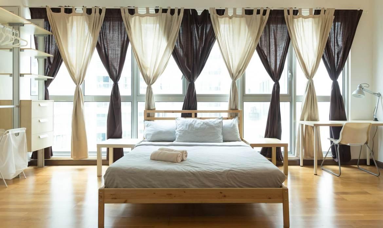 dress your windows - voile panels