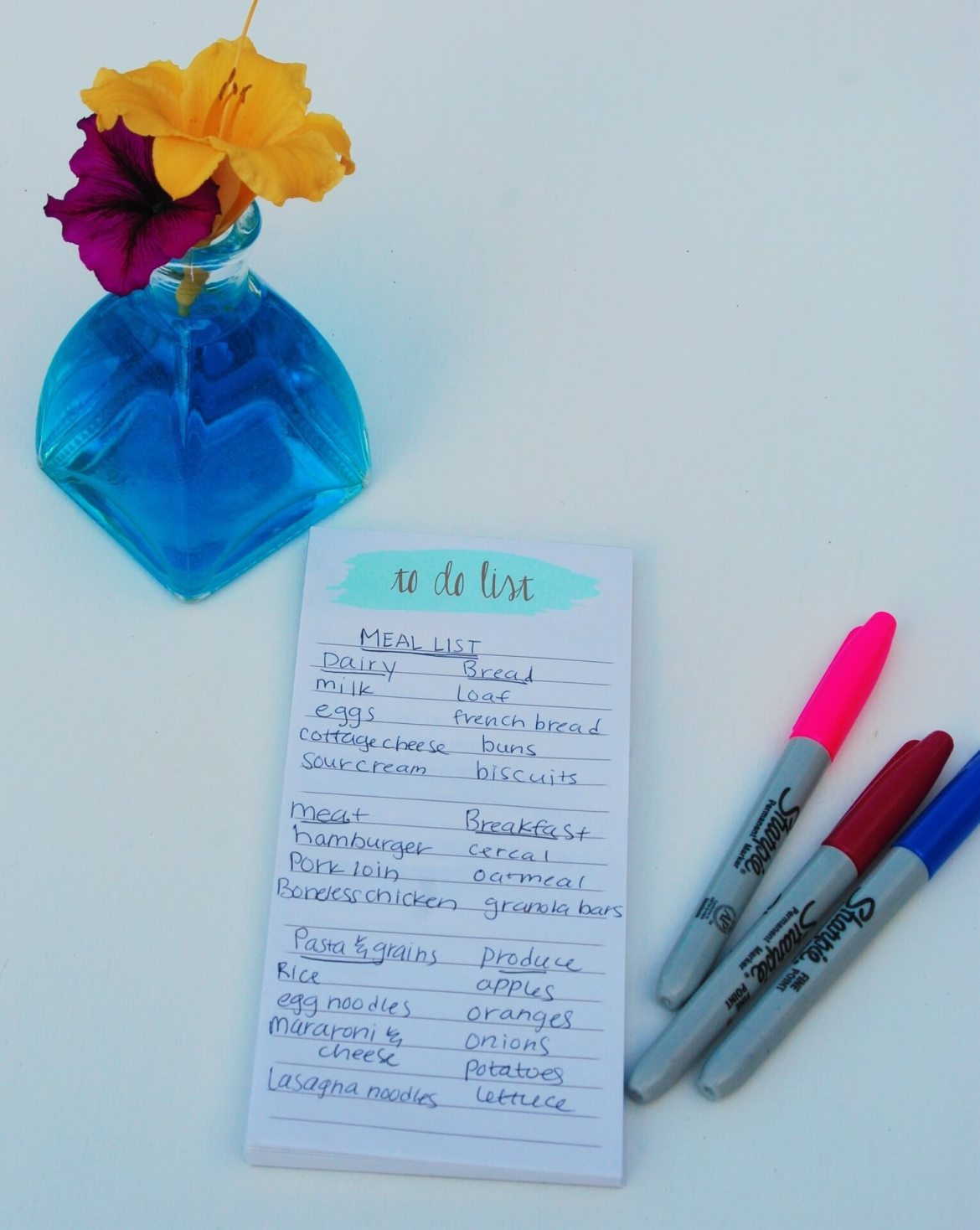 shopping list - reducing the costs