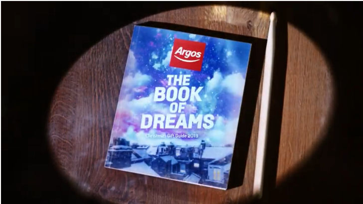 Argos Christmas advert 2019 - book of dreams