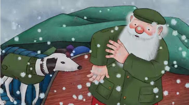 Barbour Christmas Advert 2019