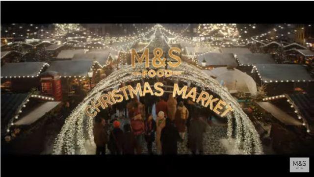 M&S Christmas advert 2019