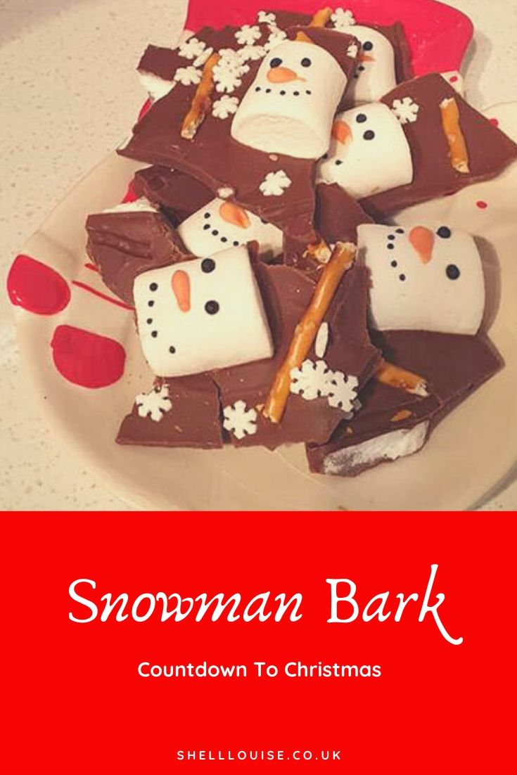 Snowmen bark