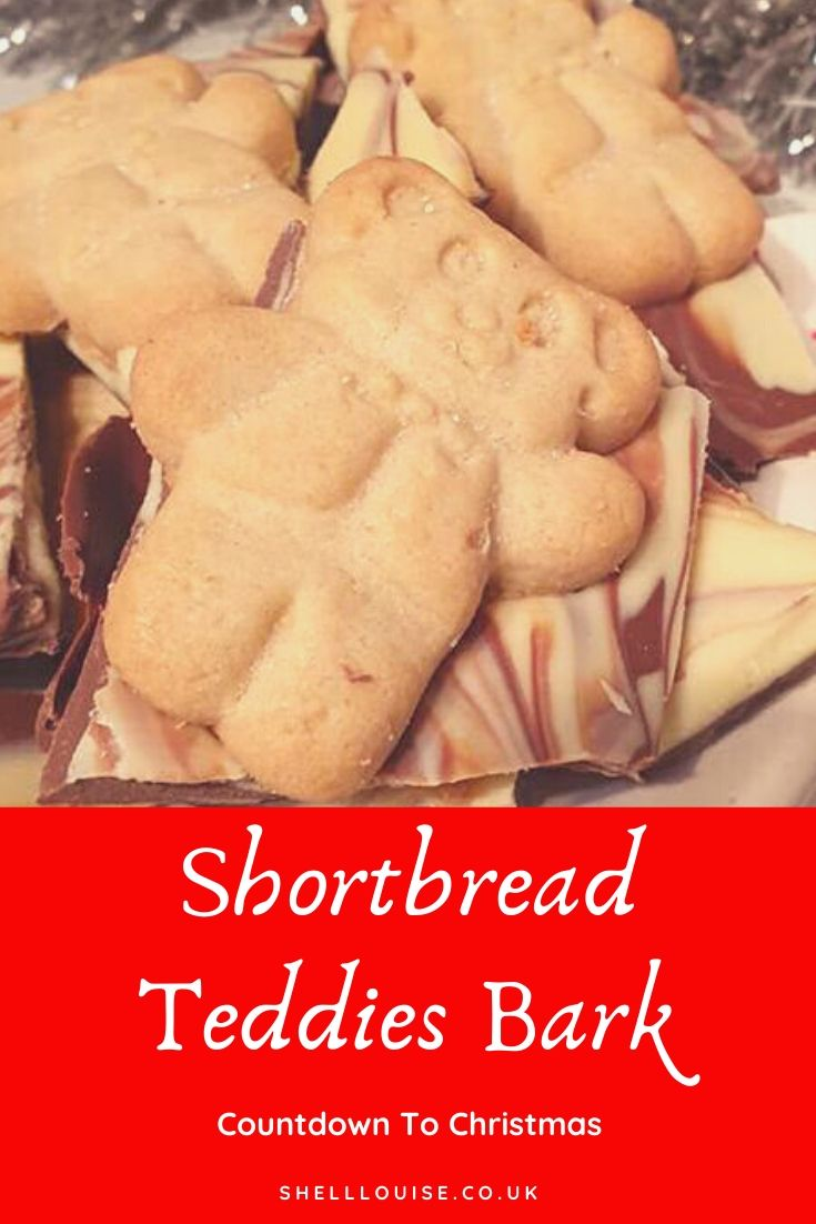Shortbread teddies bark