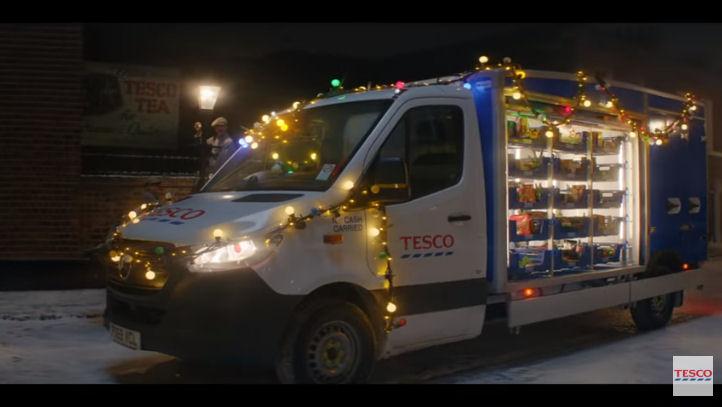Tesco Christmas advert 2019