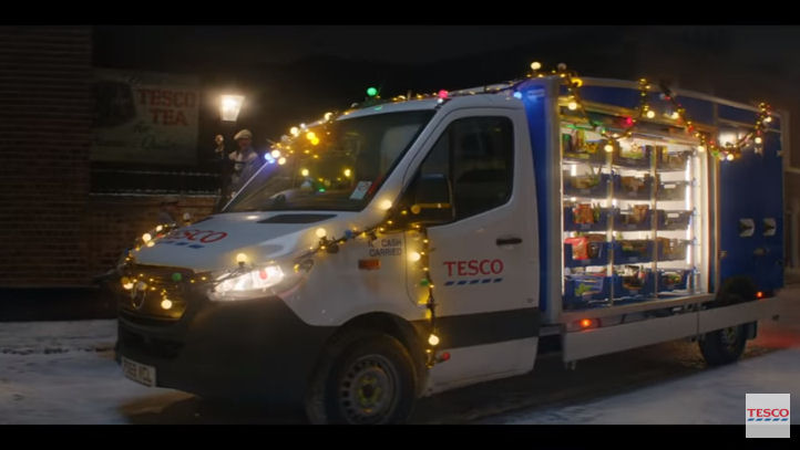 Tesco Christmas advert 2019