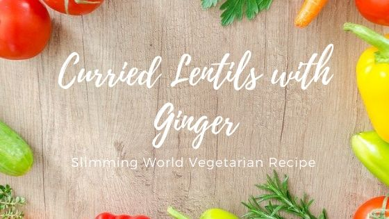 curried lentils with ginger