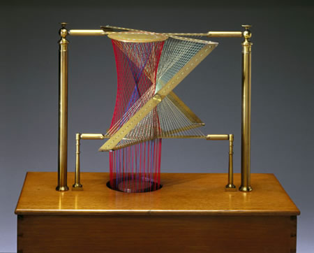 4Draadmodel volgens Theodore Olivier, 1872 (Science Museum, London)