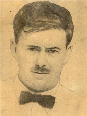 Portret van Paul de Kruif uit de tijd dat hij Microbe Hunters schreef.