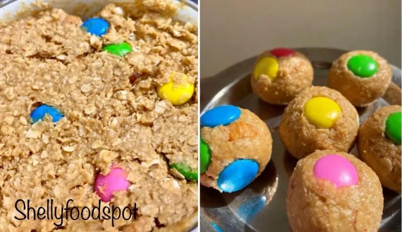 No bake peanut butter oatmeal energy balls 2