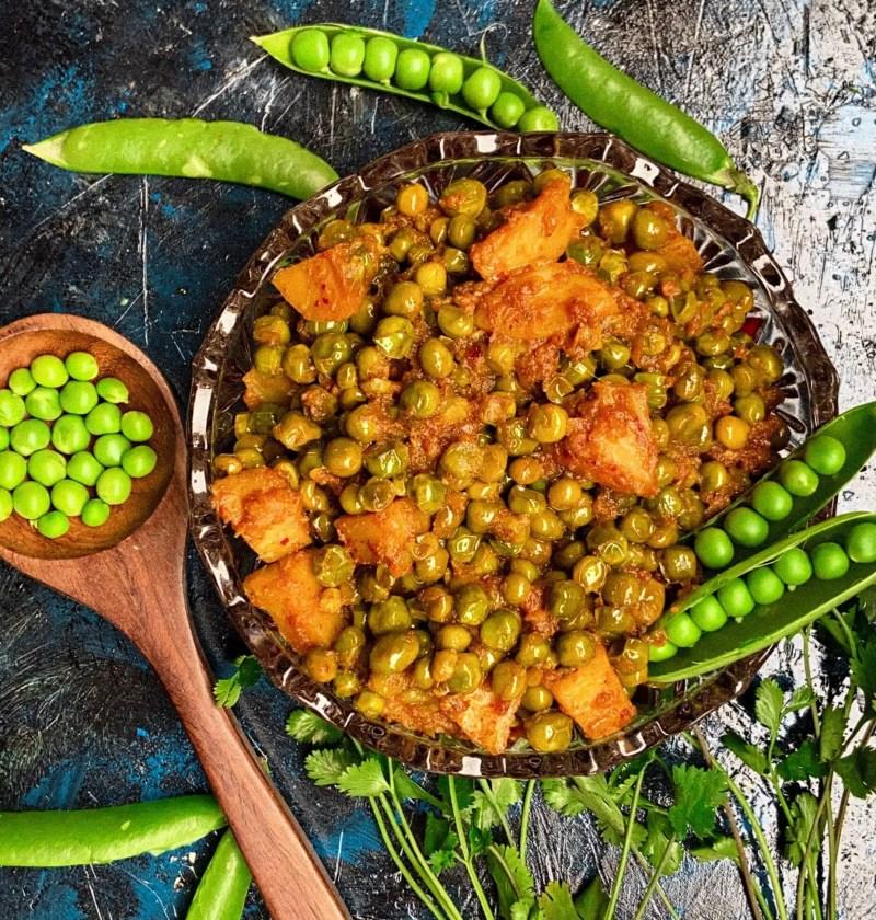 How to make aloo matar sabji|aloo matar gravy recipe