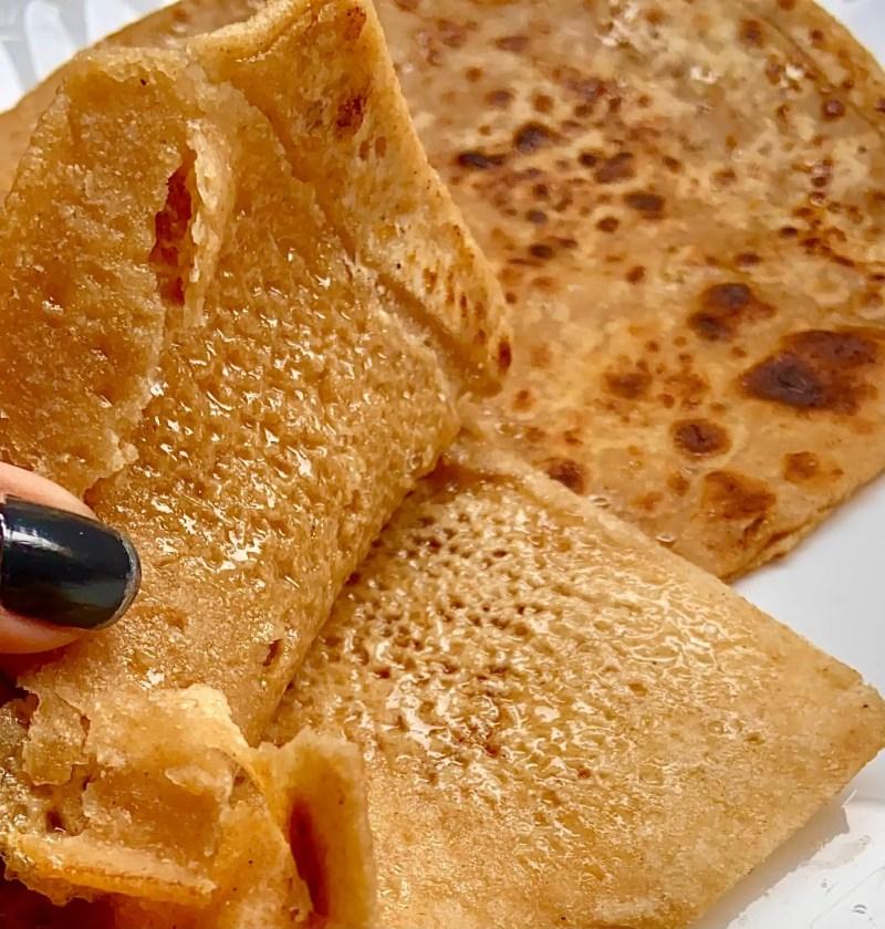 Cheeni paratha|cheeni ka paratha recipe