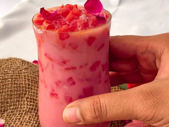 Old delhi style mohabbat ka sharbat|Tarbuz ka sharbat recipe