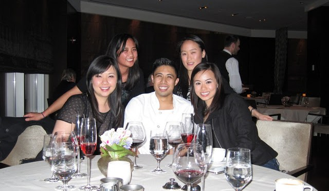 Chef Tony and the girls!