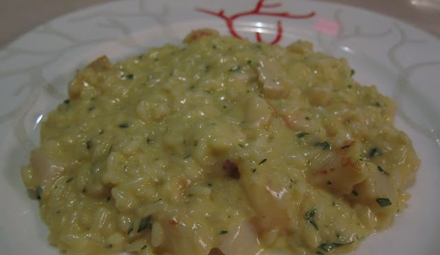 RISOTTO DI MARE - shrimp, lobster, scallops, rouget