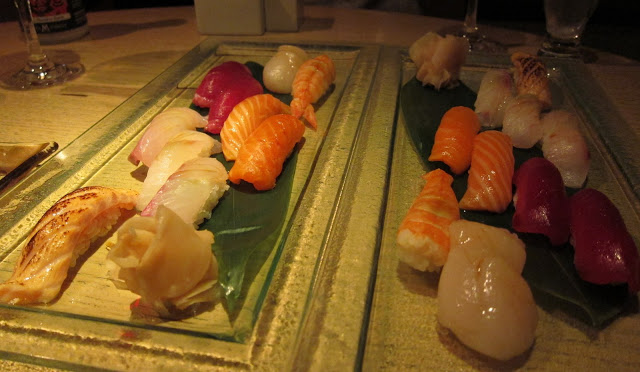 We actually ordered 2 KOI COURSES! NOM - RECOMMENDED**