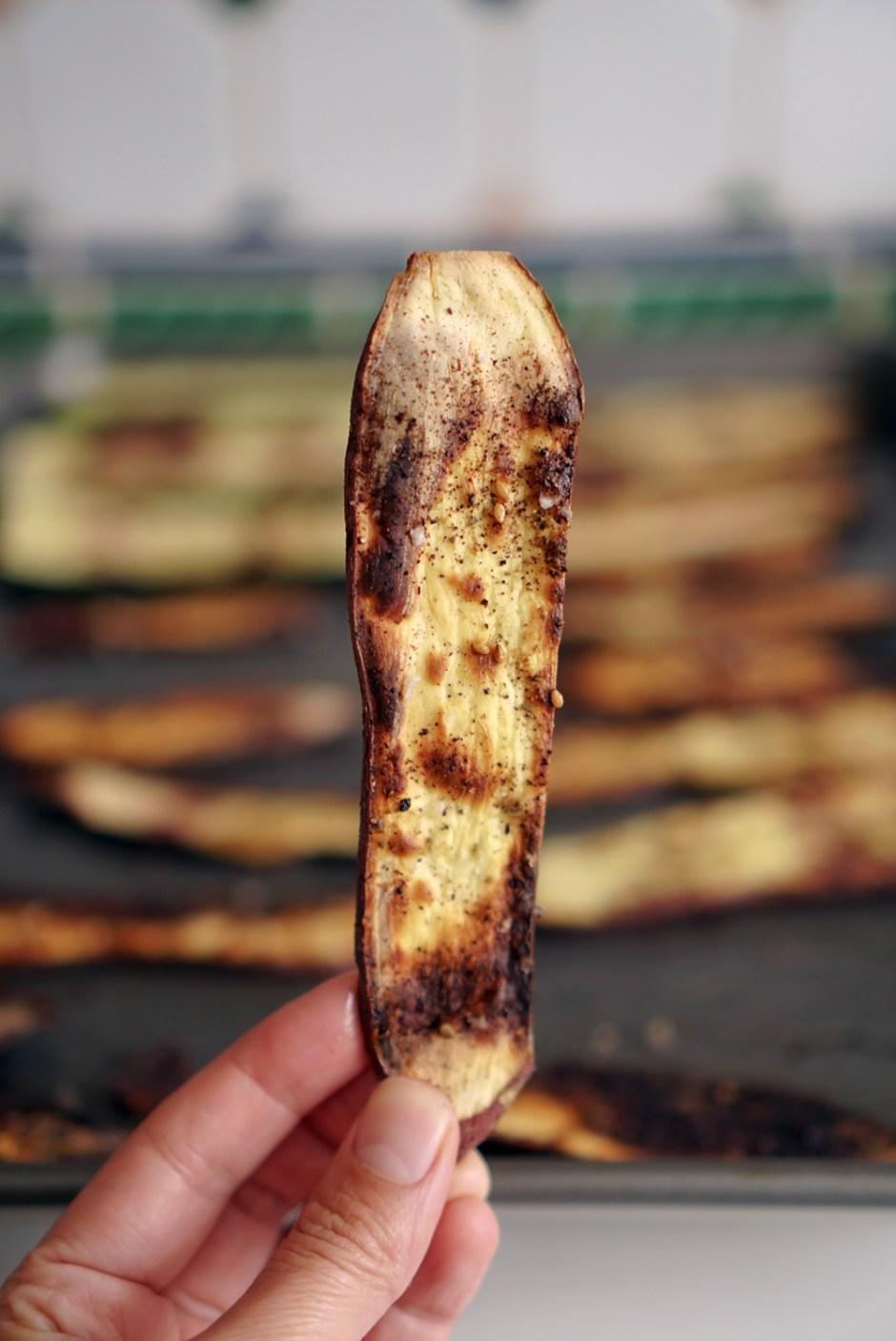 za'atar yam chips