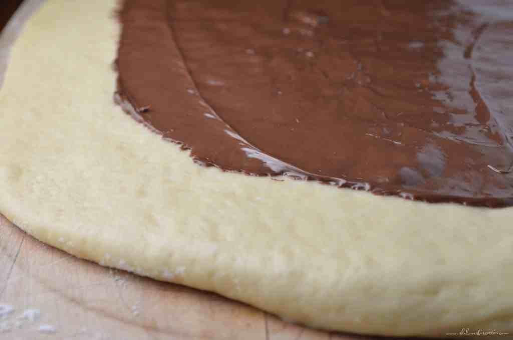 Simple Braided Nutella Bread