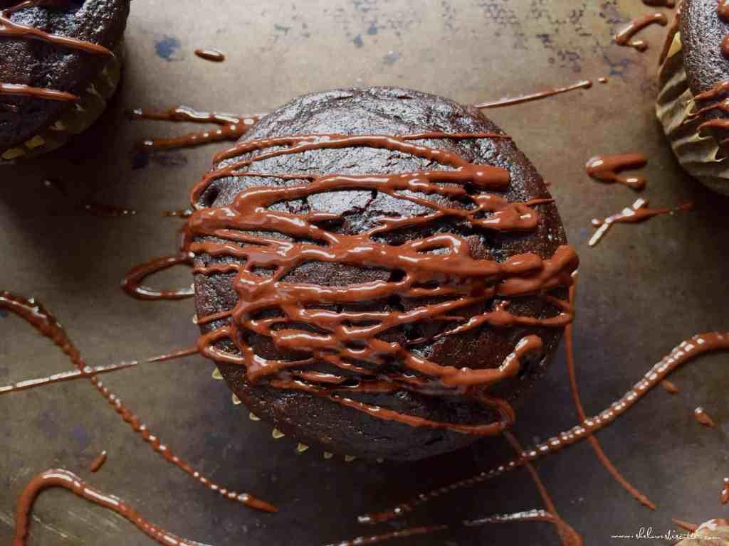 Chocolate Cocoa Espresso Cupcakes