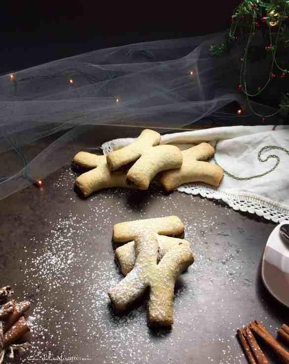 Spiced Italian Christmas Fig Cookies