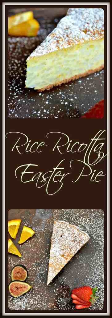 Rice Ricotta Easter Pie