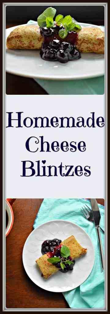 Homemade Cheese Blintzes