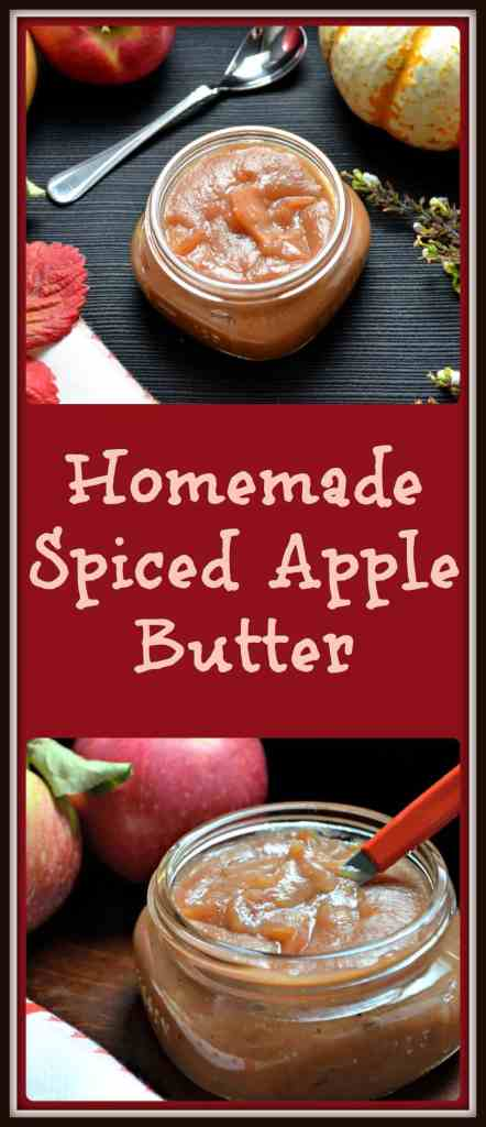 Easy Homemade Spiced Apple Butter