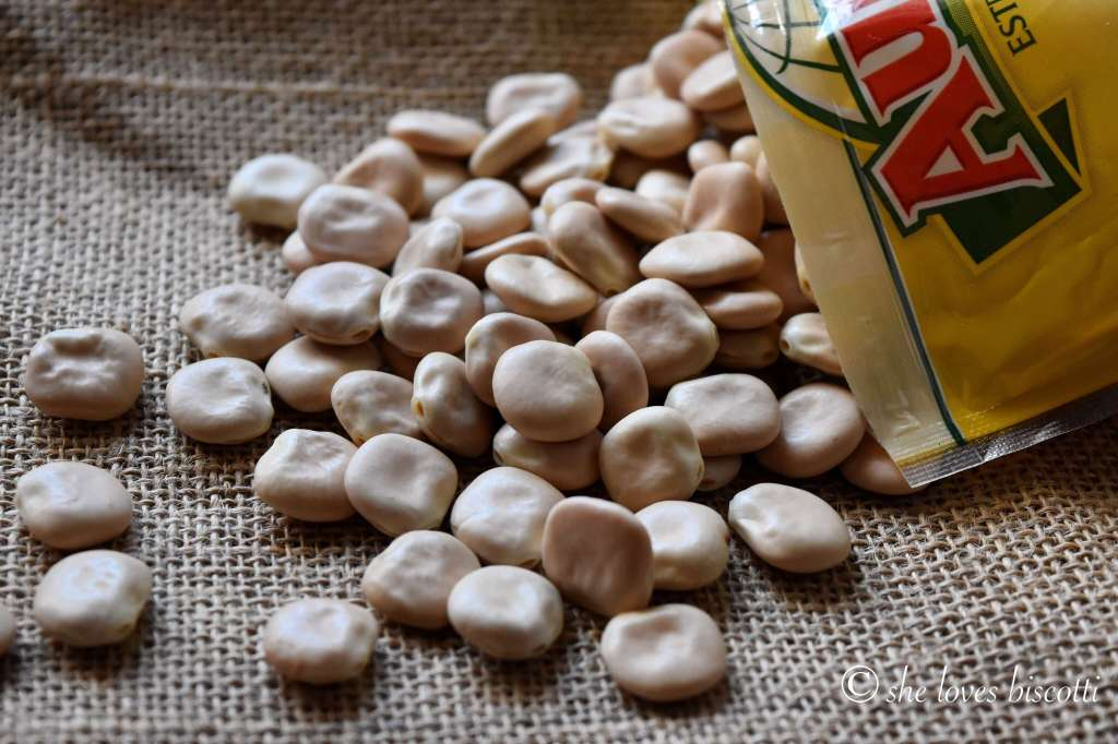 A bag of Italian Lupini Beans
