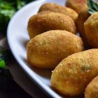 Best Homemade Italian Potato Croquettes