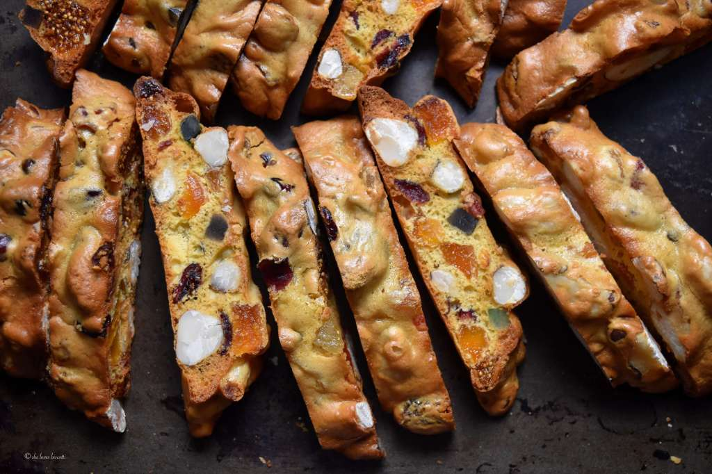 Fruity Brazil Nut Jeweled Holiday Biscotti Recipe