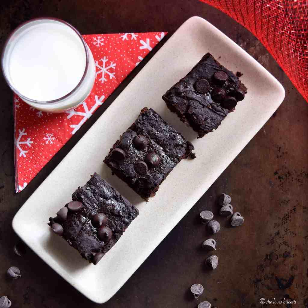 Gluten Free Sweet Potato Black Bean Brownies