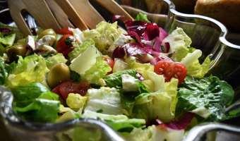 Best Italian Chopped Salad Greens Recipe