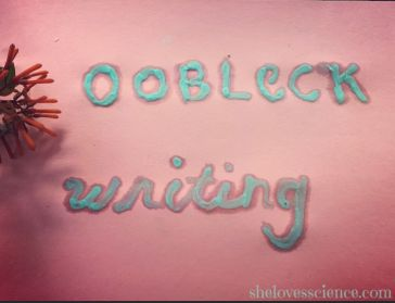 oobleck writing