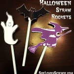 Science in Motion: Halloween Straw Rockets