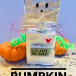 Pumpkin Powered Robot