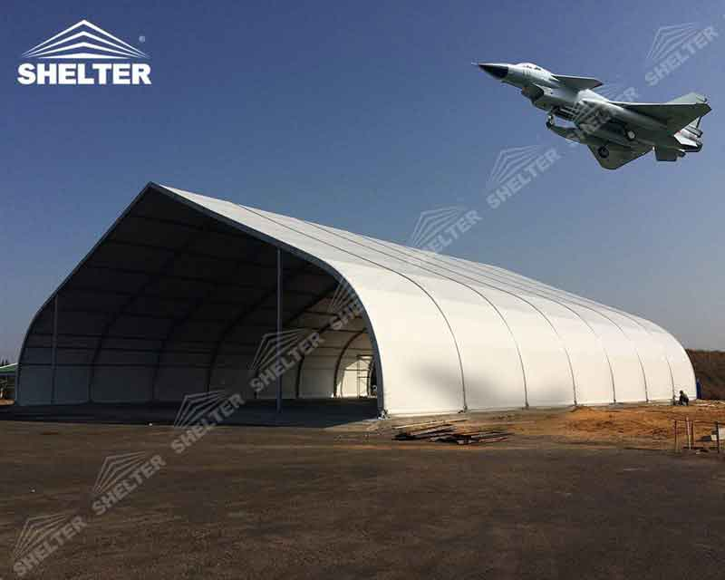 Helicopter Hangar Tent  Shelter Tent