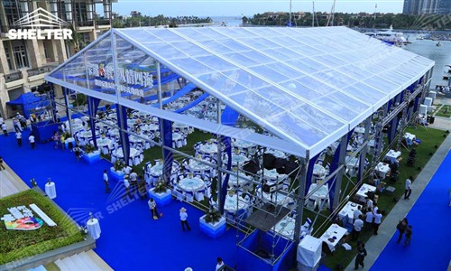 1000 Seaters Catering Tent Marquees For Reception Shelter Tent