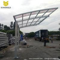 Metal Carport Canopy- Outdoor Curved Carports - Sunshield ...