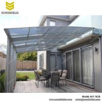 aluminum patio covers- porch awnings - Sunshield patio canopy