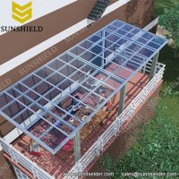 Aluminium Porch - Polycarbonate Patio Cover - Sunshield ...