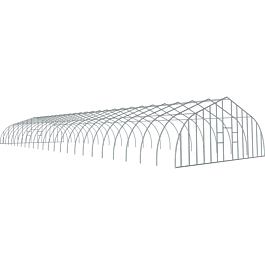ShelterTech Gothic High Tunnel Greenhouse, 30 ft. x 84 ft
