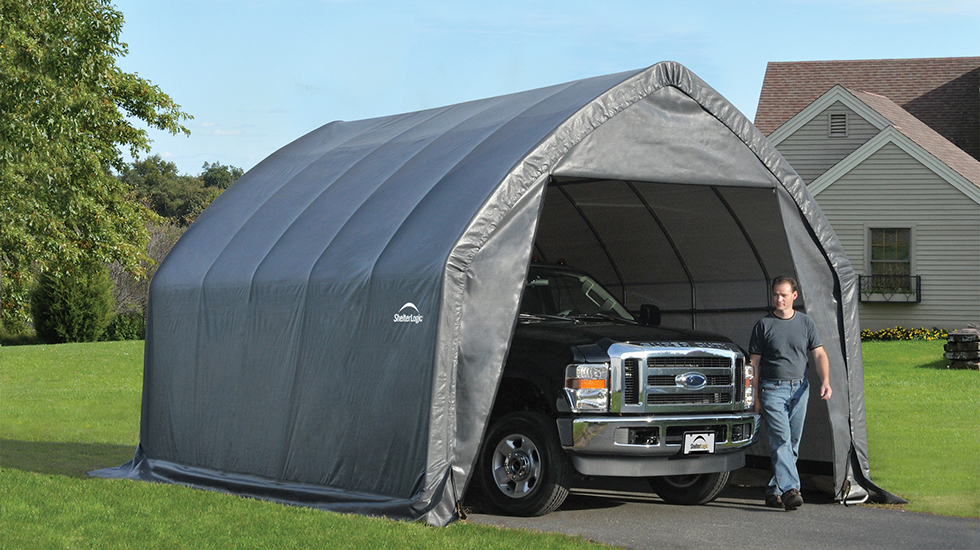 4 Reasons to Buy a Portable Garage  ShelterLogic Corp