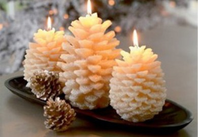 Candle Decorating Ideas For Winter