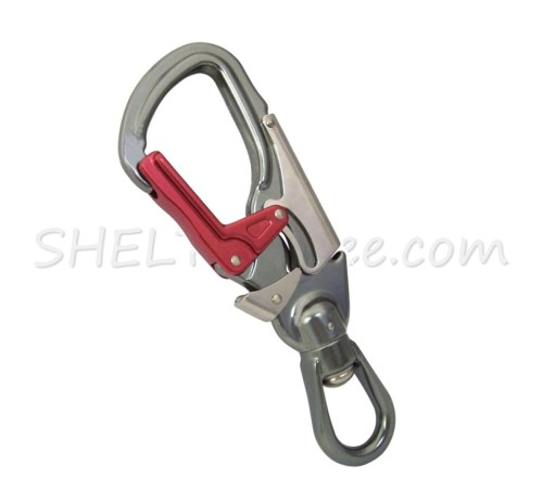 small resolution of isc triple lock swivel rope snap