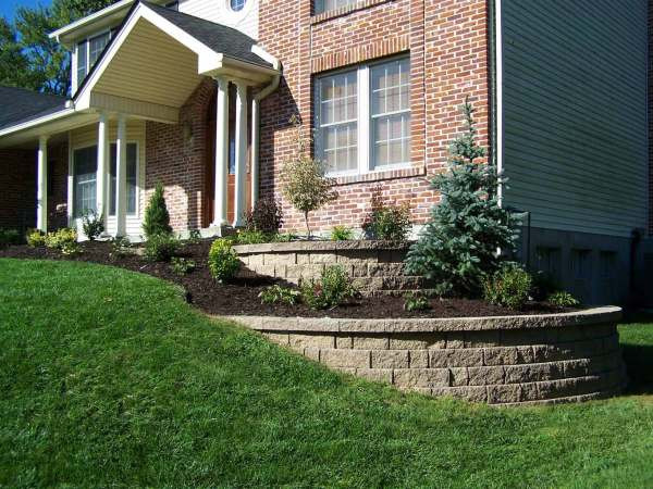 retaining wall - st. louis