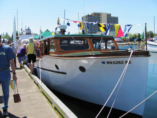 Wooden Boat Fair In Olympia